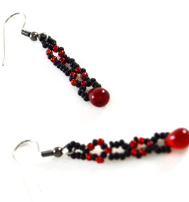 red-and-black-earrings-free