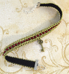 ladies-choker-necklace-key-2