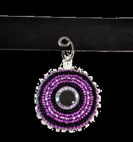 Purple Eye Choker