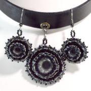 Black Gothic Choker Eye Jewelry