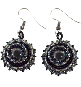 Black Gothic Earrings