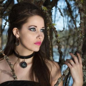 Eye Gothic Jewelry Set