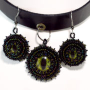 gothic leather jewelry