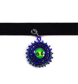 Alien Choker Necklace
