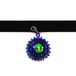 Alien Choker Necklace