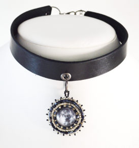 Moon Choker Necklace