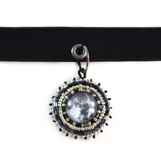 Moon Choker Necklace