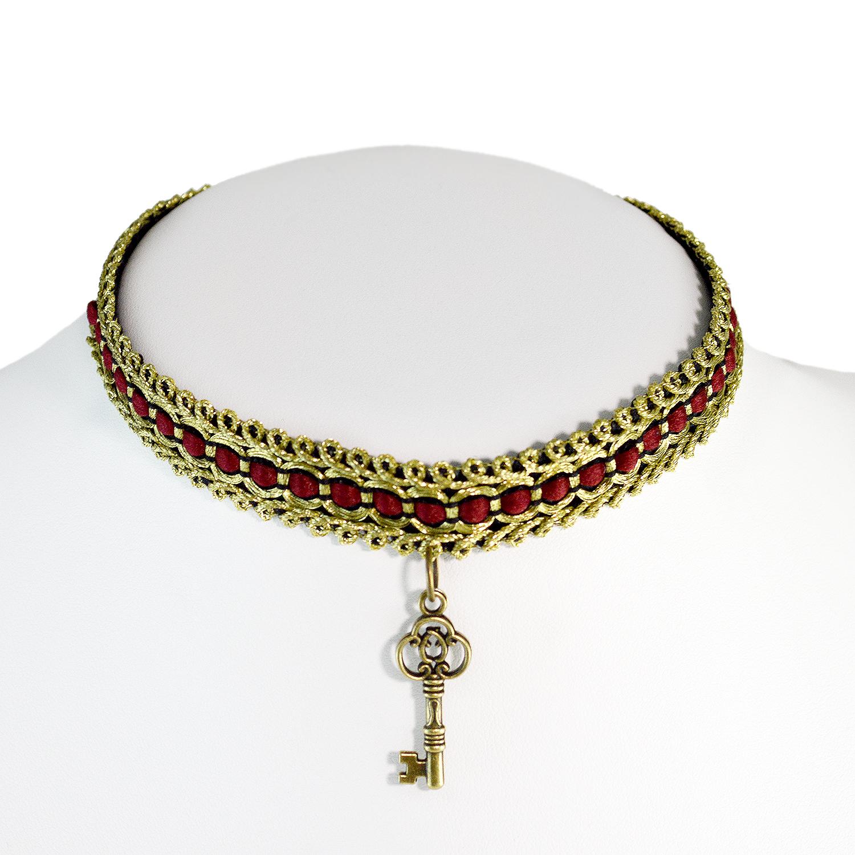 ladies-choker-necklace-key-7