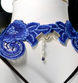 Lace Bib necklace