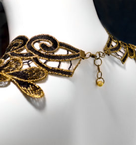 Regal Lace Necklace