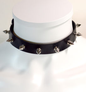 Spiked Choker Collar