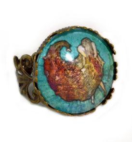 Abstract Mermaid Ring