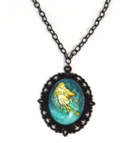 Mermaid Art Necklace