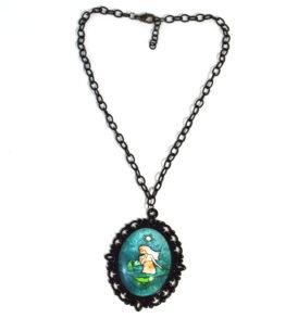 Mermaid in love Necklace