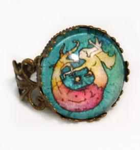 Mermaid Art Ring