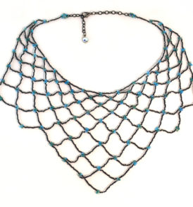Netted Mermaid Necklace