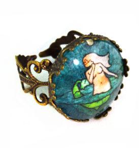 A Mermaid in Love Ring