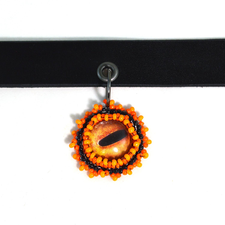octopus-jewelry-orange-octopus-eye-choker (2)